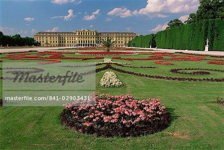 Schonbrunn Palace and Gardens, UNESCO World Heritage Site, Vienna, Austria