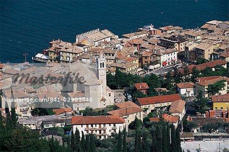 Malcesine, Lake Garda, Veneto, Italy, Europe