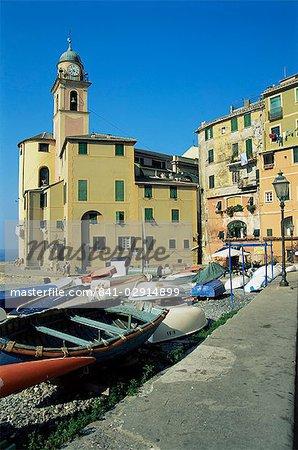 Camogli, Italian Riviera, Liguria, Italy, Europe