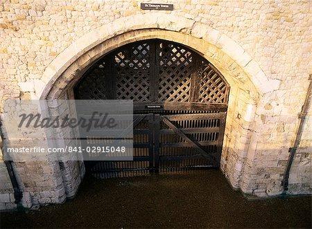 Traitors Gate, Tower of London, UNESCO World Heritage Site, London, England, United Kingdom, Europe