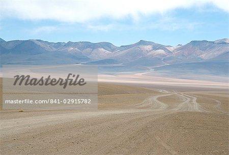 Altiplano desert near Laguna Colorada, Southwest Highlands, Bolivia, South America