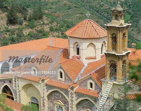 Machairas monastery, Cyprus, Mediterranean, Europe