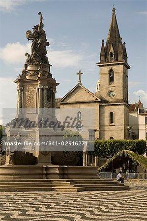 Sao Sebastiao church, Manaus, Amazon, Brazil