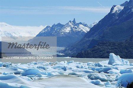 Grey Glacier, Torres del Paine National Park, Chile, South America