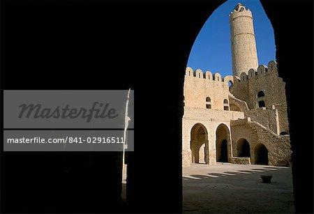 Ribat, Medina, Sousse, UNESCO World Heritage Site, Tunisia, North Africa, Africa