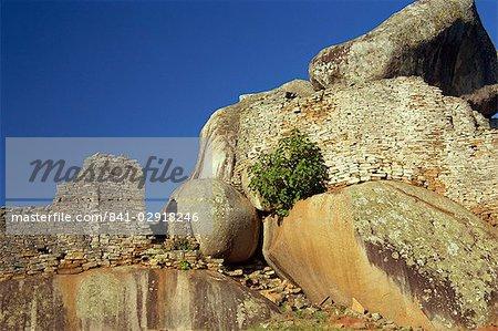 Hill Complex, Great Zimbabwe, UNESCO World Heritage Site, Zimbabwe, Africa