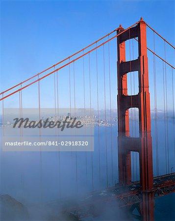 The Golden Gate Bridge, San Francisco, California, United States of America, North America