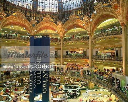 Galleries Lafayette, Paris, France, Europe