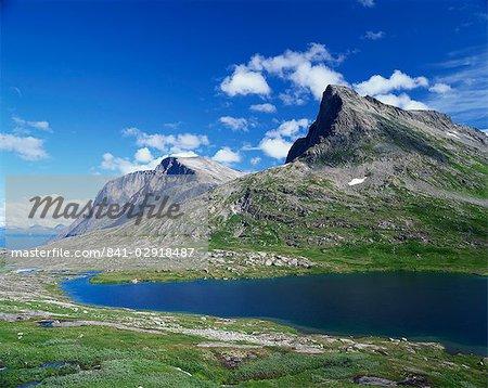 Trollstigen Mountains, Norway, Scandinavia, Europe