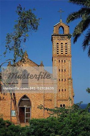 Sacred Heart church, Entebbe, Uganda, East Africa, Africa