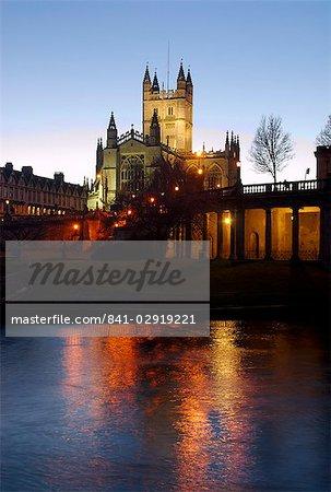 The Abbey, Bath, UNESCO World Heritage Site, Somerset, England, United Kingdom, Europe
