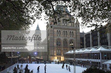 Christmas, Natural History Museum, Kensington, London, England, United Kingdom, Europe