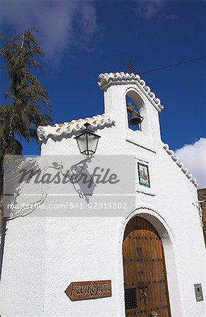Ermita de la Virgen de las Angustias church, Sierra Nevada, Andalucia, Spain, Europe
