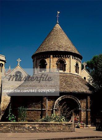 Holy Sepulchre Round Church, Round Church Street, Cambridge, Cambridgeshire, England, United Kingdom, Europe