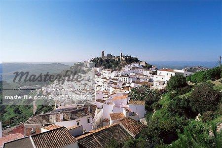 Village of Casares, Malaga area, Andalucia, Spain, Europe