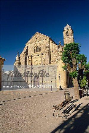 The 16th century Capilla del Salvador (Chapel of El Salvador), Plaza Vazquez de Molina, Ubeda, Jaen, Andalucia (Andalusia), Spain, Europe