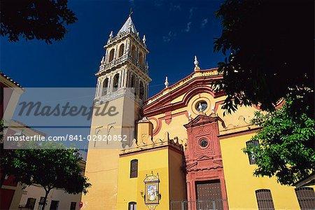 Iglesia de Santa Ana, Triana district, Seville, Andalucia (Andalusia), Spain, Europe