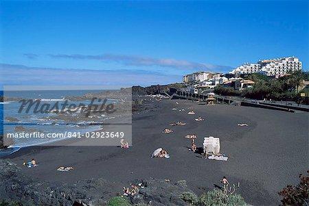 Playa de los Cancajos, La Palma, Canary Islands, Spain, Atlantic, Europe