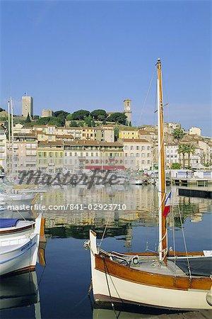 Port, Cannes, Cote d'Azur, Alpes-Maritimes, Provence, France, Europe
