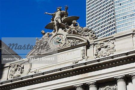 Grand Central Terminal, Manhattan, New York City, New York, United States of America, North America