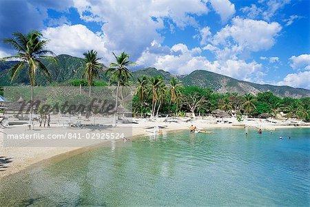 Kyona Beach Club, north of Port au Prince, Haiti, West Indies, Central America