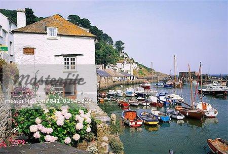 Polperro, Cornwall, England, United Kingdom, Europe