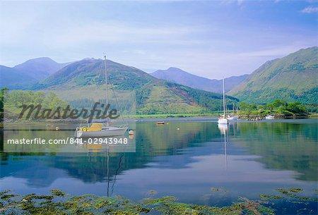Ballachulish, Loch Leven, Highlands Region, Scotland, United Kingdom, Europe