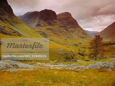 Glen Coe (Glencoe), Highlands Region, Scotland, United Kingdom, Europe