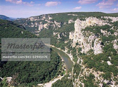 Ardeche Gorges, Languedoc Roussillon, France, Europe