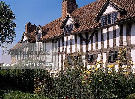 Mary Arden's cottage, Stratford-upon-Avon, Warwickshire, England, United Kingdom, Europe