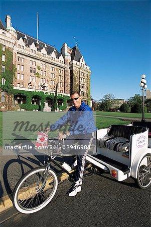 Pedicab, Victoria, British Columbia, Canada, North America
