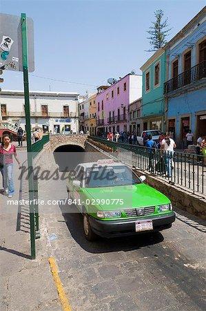 The famous tunnels of Guanajuato, a UNESCO World Heritage Site, Guanajuato State, Mexico, North America
