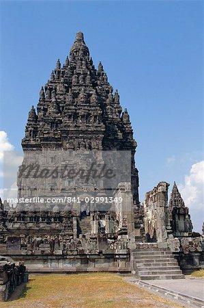 Hindu temple, Prambanan, Java, Indonesia