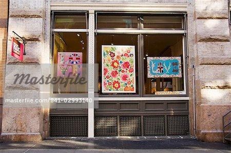 Art Gallery, Soho, Manhattan, New York City, New York, United States of America, North America