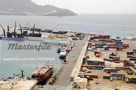 Port of Mindelo, Sao Vicente, Cape Verde Islands, Africa