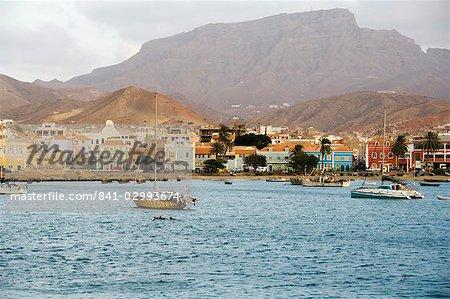 Harbour of Mindelo, Sao Vicente, Cape Verde Islands, Africa