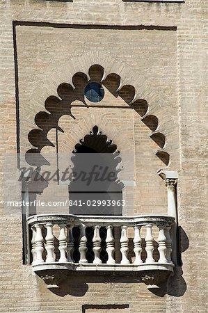 La Giralda, Santa Cruz district, Seville, Andalusia, Spain, Europe