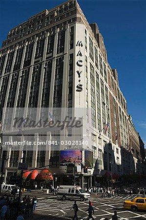 Macy's, Manhattan, New York, New York State, United States of America, North America