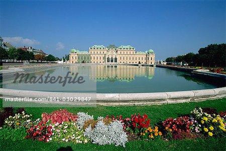 Belvedere, Vienna, Austria, Europe