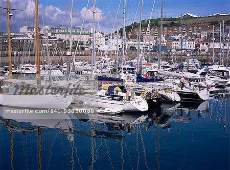 Elizabeth Marina, St. Helier, Jersey, Channel Islands, United Kingdom, Europe