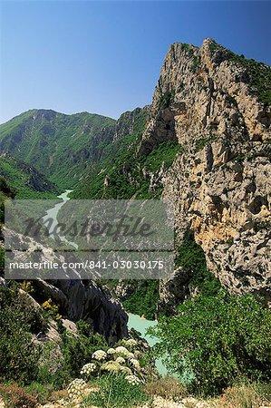 Verdon Gorges, Alpes-de-Haute-Provence, Provence, France, Europe