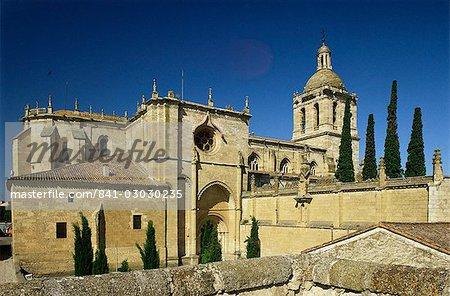 Cathedral, Ciudad Rodrigo, near Salamanca, Castile Leon, Spain, Europe