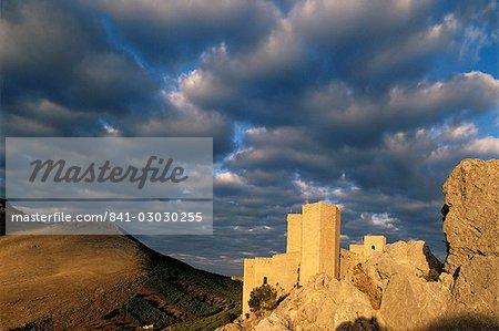 Castilla de Santa Catalina Parador, Jaen, Andalucia, Spain, Europe