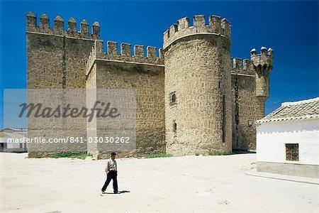Castle of Orgaz, near Toledo, Castile La Mancha, Spain, Europe