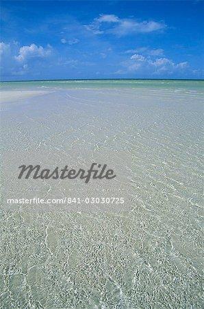 Beach, Andros, Bahamas, Central America