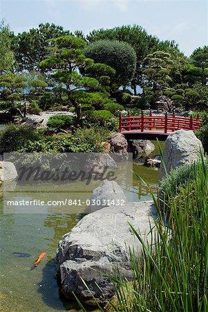 Japanese Gardens, Monte Carlo, Monaco, Europe