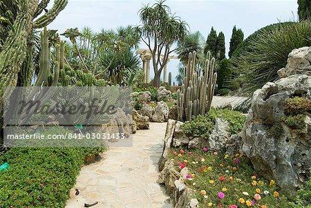 Jardin Exotique, Moneghetti, Monaco, Europe