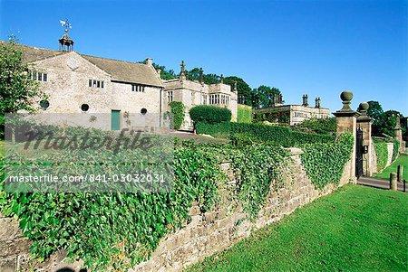 Tissington Hall, Tissington, Peak District National Park, Derbyshire, England, United Kingdom, Europe