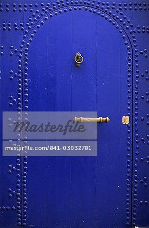 Door in the Medina, Essaouira, Morocco, North Africa, Africa