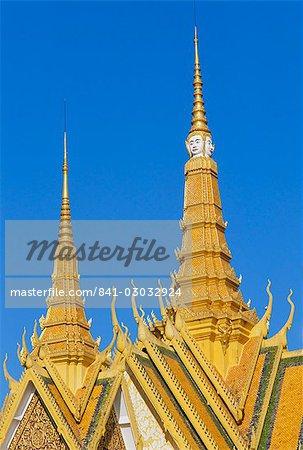 Royal Palace, Phnom Penh, Cambodia, Indochina, Asia